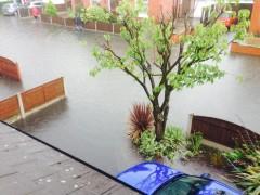 Prospect Avenue submerged Pic: Jodie Worthington
