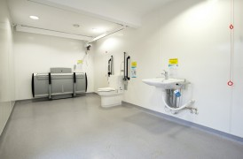 Changing Places toilets are much larger and have all the kit needed for disabled users Pic: Mencap