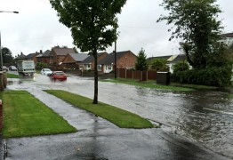 Surface water in Walton-le-Dale Pic: Louise Hogg