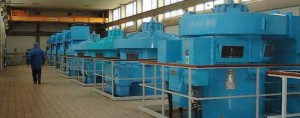 Inside the Franklaw water treatment works