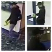CCTV pictures released by police of the man they wish to speak to