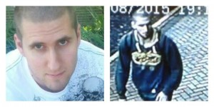 Mark Mullen pictured left, and CCTV shows him near Preston Bus Station