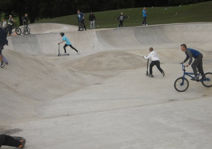 Moor Park Skate Park Pic: Keith Anthony Johnson
