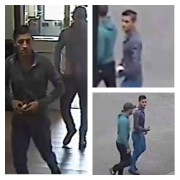 CCTV images released by police of two men wanted in connection with the incident
