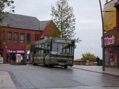 The 111 heads through Preston city centre Pic: Heather Crook