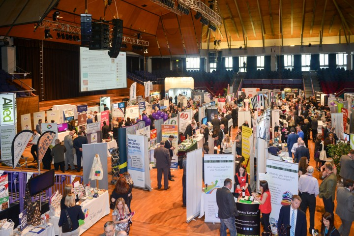 The Business Expo 2015 in the Guild Hall