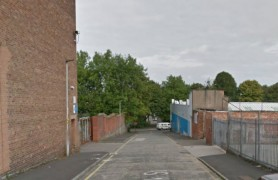 Greenbank Street where one of the robberies took place