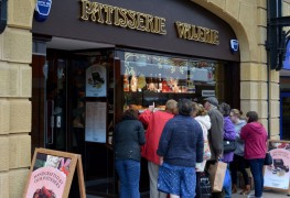 The window display at Patisserie Valerie has been attracting attention Pic: Tony Worrall