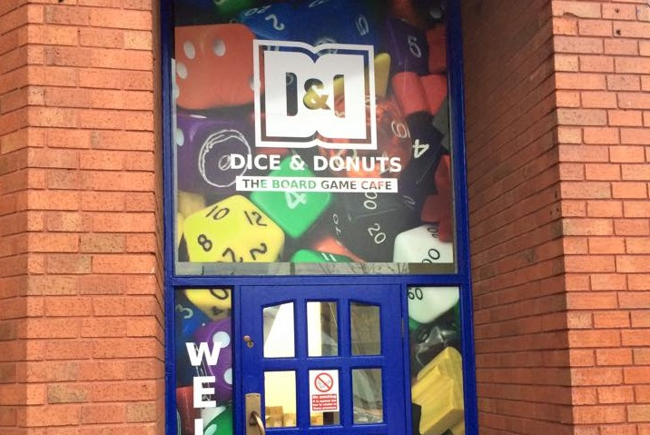 The former Dice and Donuts cafe in Butler Street