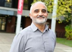 Faz Ali has been volunteering in Frenchwood and Avenham