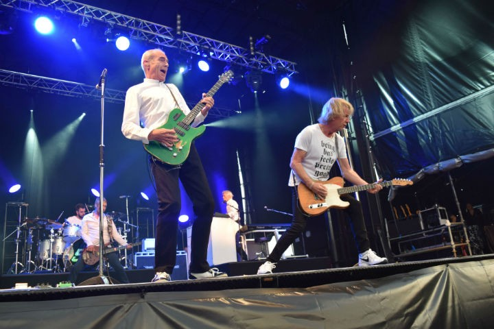 Status Quo headlining at Symphony at the Tower