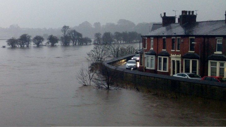 The Ribble rising Pic: Tyler Moore
