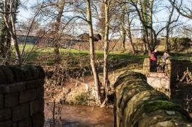 What remains of the Red Rocks Bridge Pic: Mick Gardner