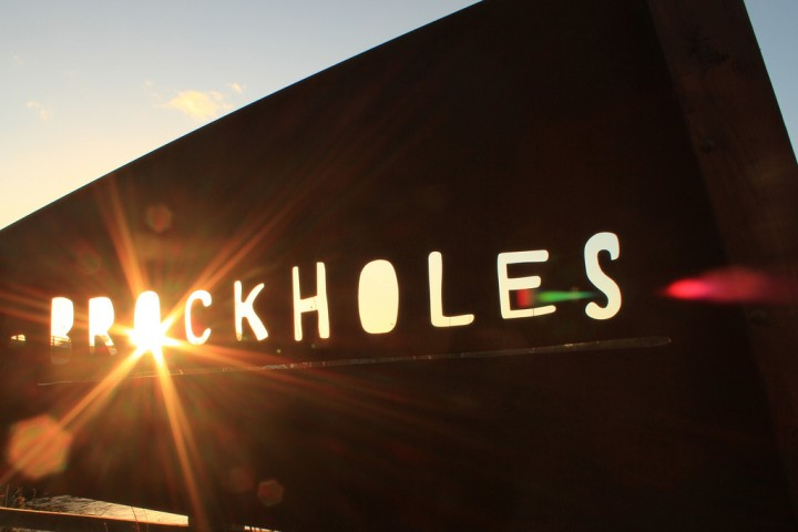Brockholes sign Pic: Pelham 123