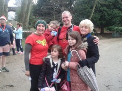Ben Ashworth with his family and Preston Mayor councillor Margaret McManus