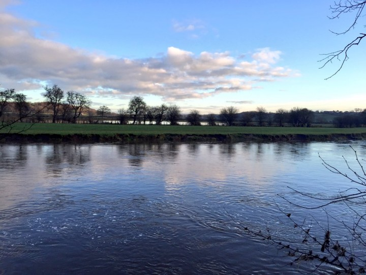 The River Ribble on Sunday morning Pic: Louise Hogg