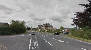 The A6 near the Bellflower pub where the collision took place Pic: Google