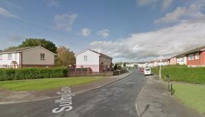 Grange estate where the confrontation took place Pic: Google