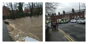 Road closure on Higher Walton Road