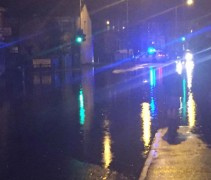 A flooded junction in Preston