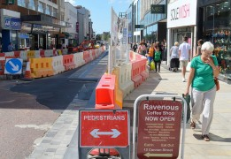 Expect more of this kind of scene during the coming months at the top end of Fishergate Pic: Tony Worrall