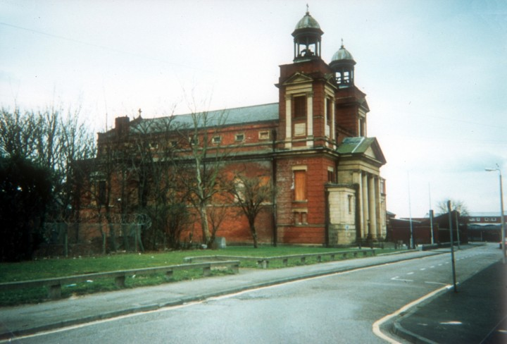 St Augustine's Church when it was still standing