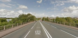 The collision is said to have happened close to where you exit the Guild Way onto Channel Way Pic: Google