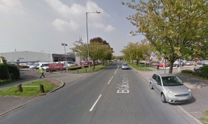 Blackpool Road where the collision has taken place Pic: Google