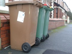 Three types of recycling are currently collected in Preston