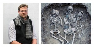 Dr Duncan Sayer and the remains at Cambridge they used for their study
