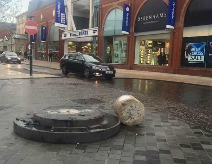 A familiar sight in Fishergate... Pic: Andrew Slade