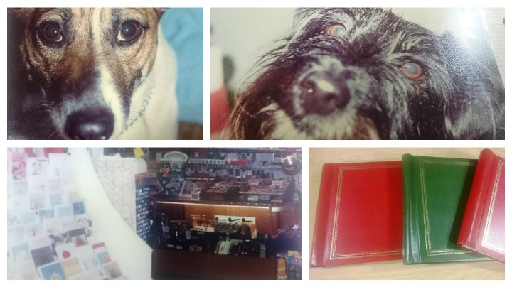 Pictures from the photo albums released by police