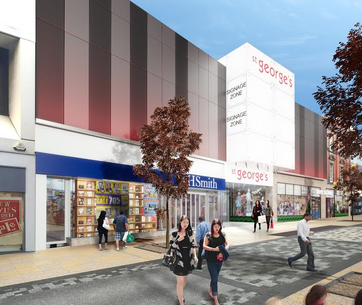 A digital image of how St George's will look