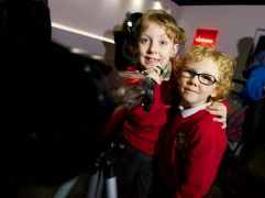 George and Jack Slater from Goosnargh Primary School