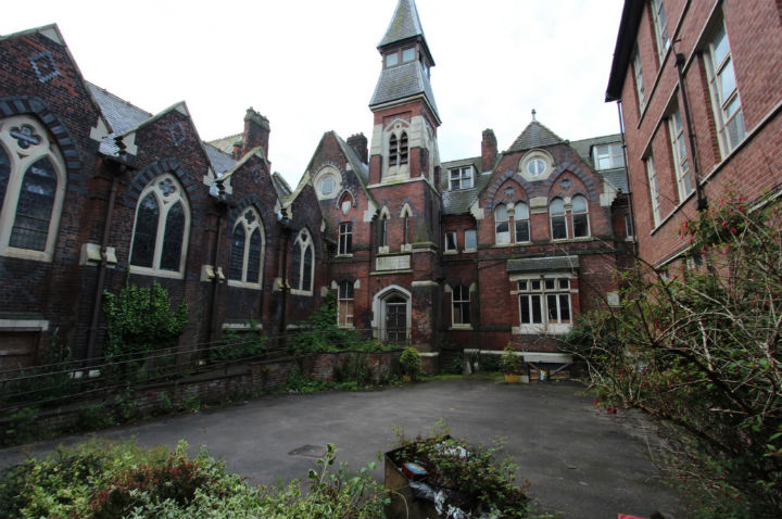St Joseph's Orphanage has stood empty for years Pic: scrappynw