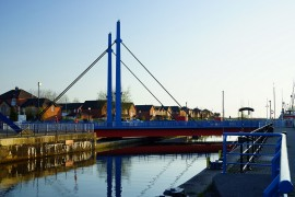 The swing bridge needs work say the county council Pic: shabbagaz