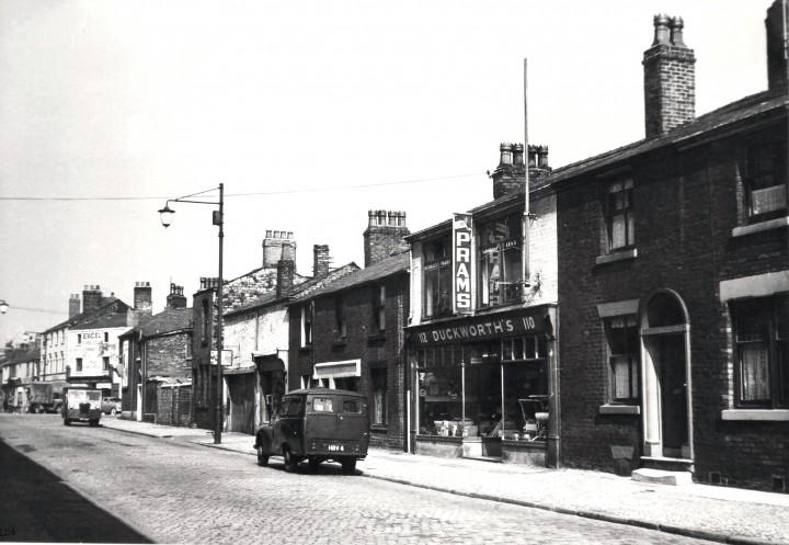 George Duckworth (pram dealer) 110-112 Tithebarn Street, Preston. March 12, 1955.