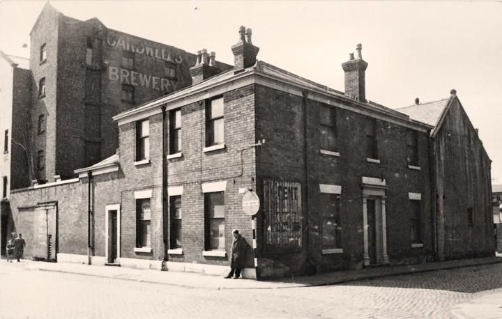 Tithebarn Street and Old Vicarage, Preston 1960