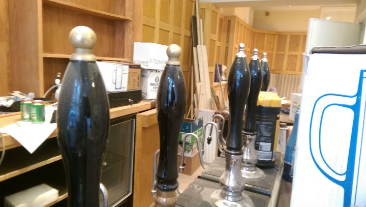 Seven real ales on pump, six craft beers and wide selection of bottled foreign beers too