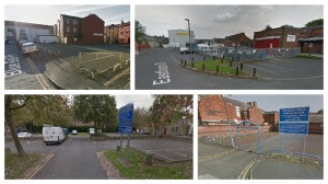 Some of the parking areas being targeted by the council including Grimshaw Street, Eastham Street, Hammong Street and Jutland Street Pics: Google