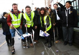 Launch of the Clean for the Queen event
