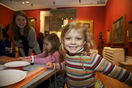 Family friendly activities at the Harris Pic: Harris Museum and Art Gallery