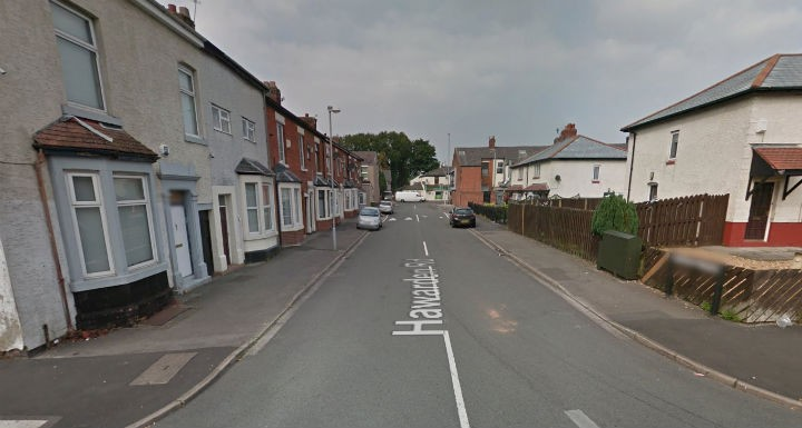 Hawarden Road where fire crews were called to