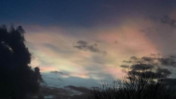 The sky over Cottam Pic: Sarah Steele