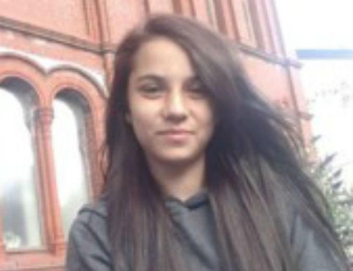 Sherana Hussain was last seen on Sunday evening