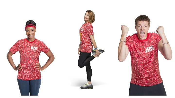 Denise Lewis, Mel C and Jake Humphreys are just some of the big names backing Sport Relief in 2016
