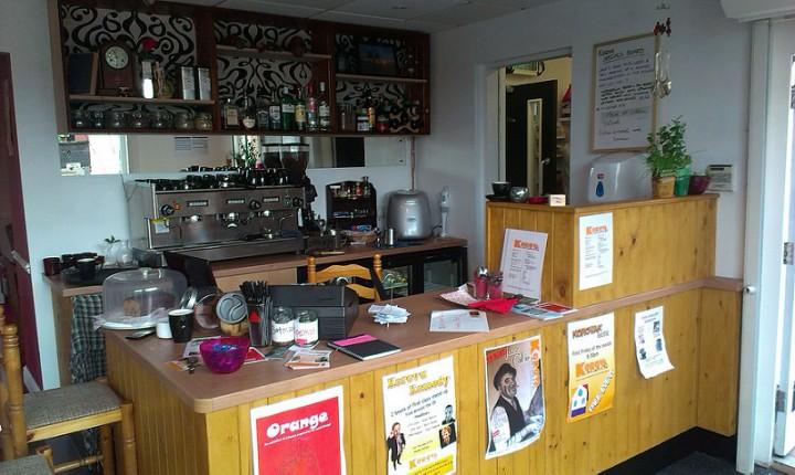 Inside the Korova bar