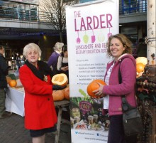 The Larder Team and the Preston Food Partnership are working together to bring The Real Junk Food Project to the city