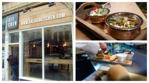 Baluga Kitchen facing into Fishergate, and two of the dishes available Pic: of exterior, Tony Worrall