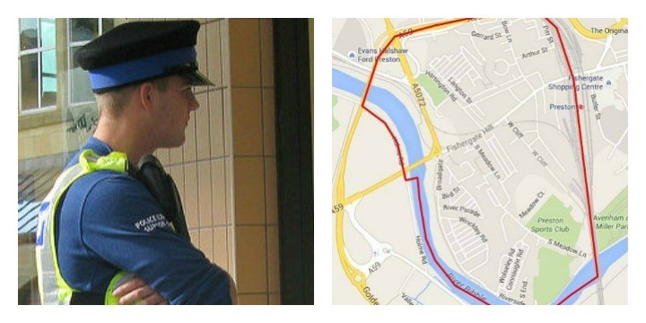 Police patrols will be out on Friday in Broadgate from after-school until midnight